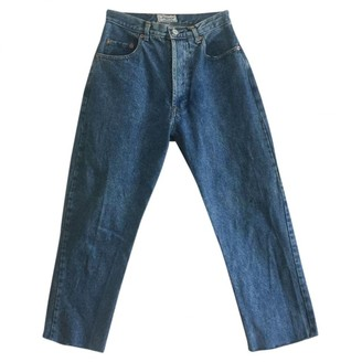Chevignon Blue Cotton Jeans for Women Vintage