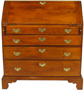 One Kings Lane Vintage 18th-C. Chippendale Slant-Lid Desk - The Barn at 17 Antiques
