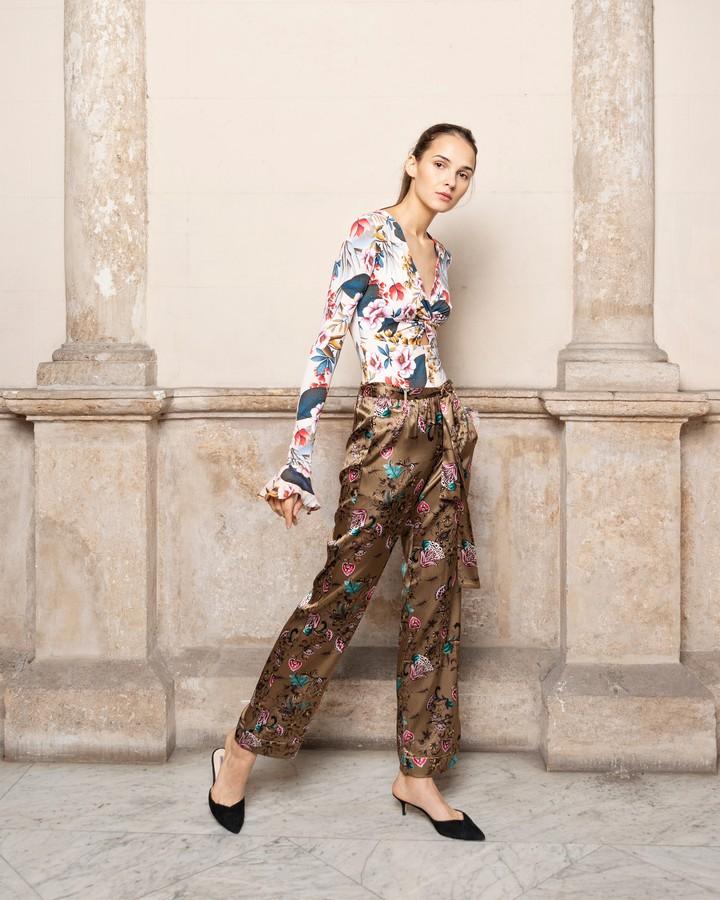 Adriana Iglesias Lola Long Sleeve Bodysuit