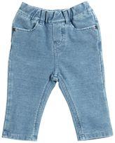Little Marc Jacobs Denim Effect Cotton Sweatpants