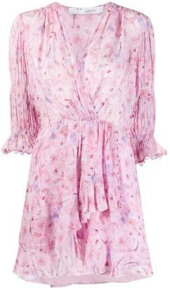 IRO Ruffled Paisley-Print Dress