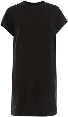 Karl Lagerfeld Paris Logo Trim T-Shirt Dress