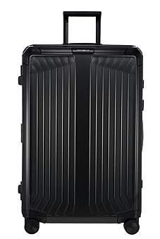 Samsonite Lite-Box Alu 76Cm Spinner In Black