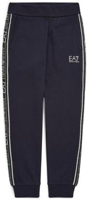 Emporio Armani Kids Ea7 Logo Tape Sweatpants (12 Months-6 Years)