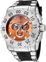 Invicta Men's 6657 Reserve Collection Chronograph Stainless Steel Black Rubber Watch
