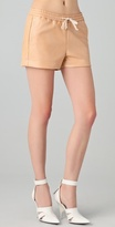 Shorty Faux Leather Shorts