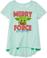 Star Wars STARWARS Girls Short Sleeve T-Shirt-Big Kid