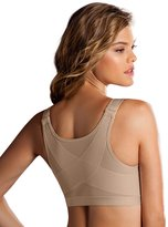 Leonisa Women's Posture Corrector Wireless Back Support Front Closure Bra