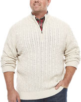 Izod Long-Sleeve Durham Sweater - Big & Tall