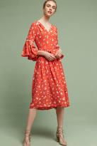 Shoshanna Millie Silk Midi Dress