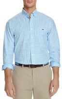 Vineyard Vines Elmont Gingham Tucker Classic Fit Button-Down Shirt