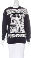 McQ by Alexander McQueen Comic Intarsia Sweater