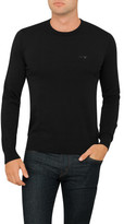 Armani Jeans Crew Neck Plain Knit