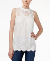 Miss Chievous Juniors' Lace Top