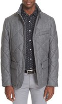 Canali Men's 'Pearl' Quilted Field Jacket