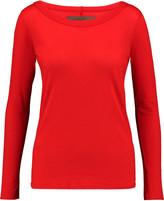 Enza Costa Slub Pima cotton-jersey top