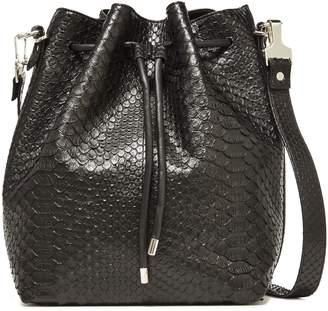 Proenza Schouler Large Python Bucket Bag