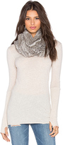 Jocelyn Rabbit Infinity Scarf