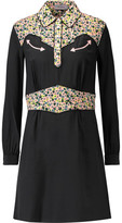 Coach Printed Silk Mini Dress