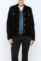 Scully Denim Jacket With Lace