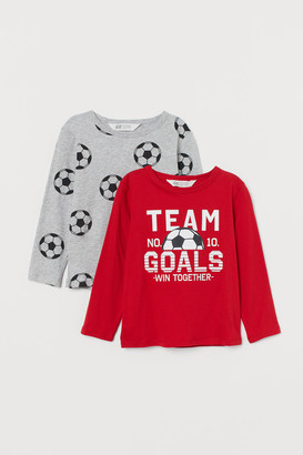 H&M 2-pack Jersey Shirts