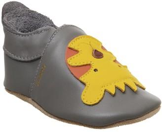 Bobux Soft Sole Crib Shoes Grey Tiger
