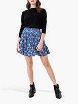 Oasis Sparkle Print Flippy Skirt