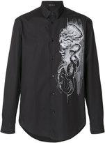 Versace Medusa print shirt - men - Cotton - 40