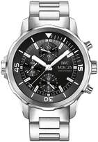 IWC Men's 44mm Steel Bracelet & Case Sapphire Crystal Automatic Dial Chronograph Watch IW376804