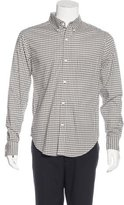 Band Of Outsiders Plaid Woven Shirt w/ Tags