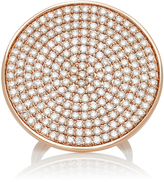 Sydney Evan Large Pave Disc Ring