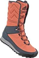 adidas Women's CW Choleah High CP Winter Boot Raw Pink/Black/Utility Blue Size 8.5 M
