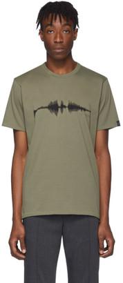 Rag & Bone Green Sound Wave T-Shirt