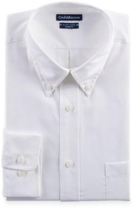 Croft & Barrow Big & Tall Classic-Fit Easy-Care Button-Down Collar Dress Shirt