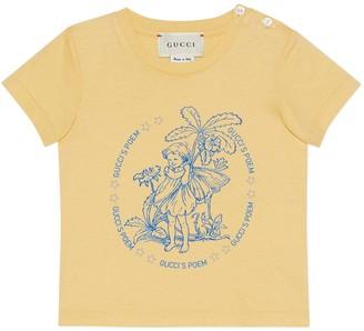 Gucci Baby Fredrick Warne print T-shirt