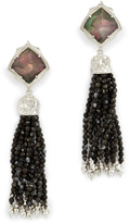 Kendra Scott Black Tassel Earring