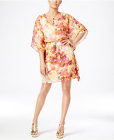 Thalia Sodi Printed Batwing-Sleeve Blouson Dress, Only at Macy's