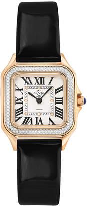 Swiss Diamond Gv2 12101 Milan Leather Watch