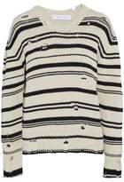 IRO Embroidered Cotton-Terry Sweatshirt