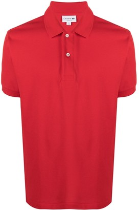 Lacoste Logo-Patch Cotton Polo Shirt