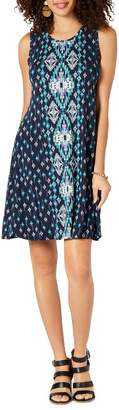 Style&Co. Style & Co. Petite Printed Shift Dress