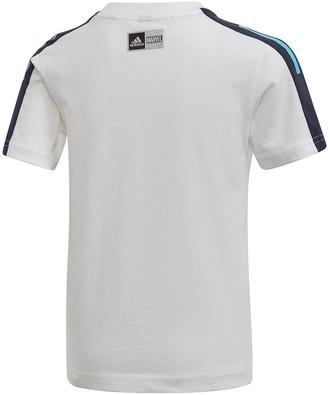 adidas BoysSpider-Man T-shirt and Shorts Set - Multi