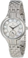 Philip Stein Teslar Women's 44SD-FMOP-SS5 Stainless Steel Watch with Diamond Studding and Link Bracelet