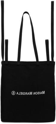 MM6 MAISON MARGIELA Black East/West Tote Bag