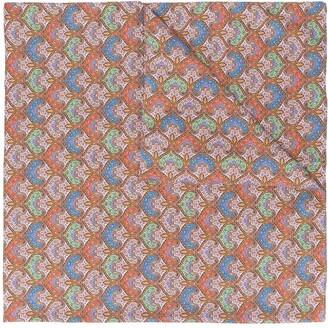 MACKINTOSH Rafferty paisley-print scarf