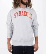 Champion Men's Syracuse Orange College Weave Crew Sweatshirt