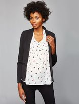 A Pea in the Pod Open Front Maternity Blazer