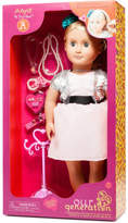 "Our Generation Anya 18"" non Poseable Doll With Jewelery"