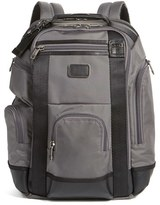 Tumi Men's Alpha Bravo Shaw Deluxe Backpack - Grey