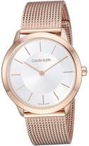 Calvin Klein Minimal Watch - K3M22626 Watches